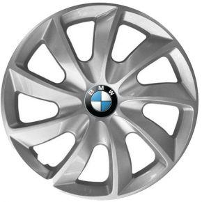 """Copricerchi per BMW 16"""", STIG GRIGIO LACCATO 4 pz"""