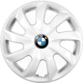 """Copricerchi per BMW 14"""", STIG BIANCO LACCATO 4 pz"""