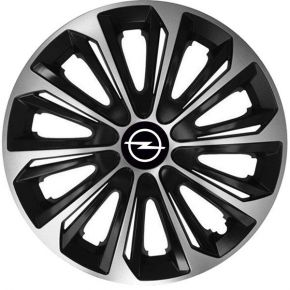 "Copricerchi per OPEL 15"", STRONG DUOCOLOR 4 pz"