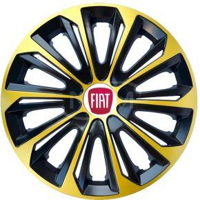 "Copricerchi per FIAT 15"", STRONG EXTRA oro 4pz"