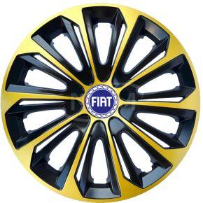"Copricerchi per FIAT 16"", STRONG EXTRA oro 4pz"