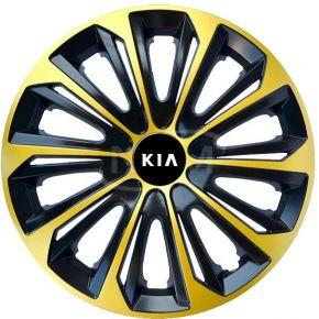 """Copricerchi per KIA 15"""", STRONG EXTRA oro 4pz"""