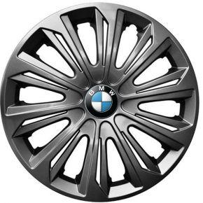 """Copricerchi per BMW 15"""", STRONG GRAFFITE  LACCATO 4 pz"""