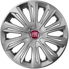 """Copricerchi per FIAT 15"""", STRONG GRIGIO 4 pz"""