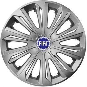 """Copricerchi per FIAT BLUE 15"""", STRONG GRIGIO 4 pz"""