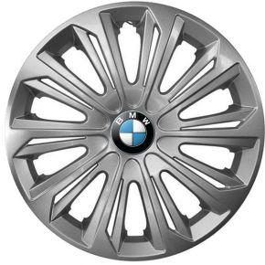 """Copricerchi per BMW 15"""", STRONG GRIGIO LACCATO 4 pz"""