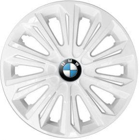 """Copricerchi per BMW 15"""", STRONG BIANCO LACCATO 4 pz"""