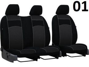 Copri sedili su misura Vip FIAT SCUDO I 2+1 (1995-2007)