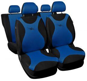 Copri sedili universali TURBO blu