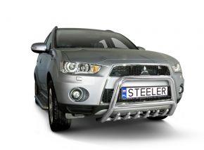 Rollbar Frontali Steeler per Mitsubishi Outlander 2010-2012 Modello G