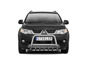 Rollbar Frontali Steeler per Mitsubishi Outlander 2007-2010 Modello G