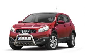 Rollbar Frontali Steeler per Nissan Qashqai 2010-2013 Modello G