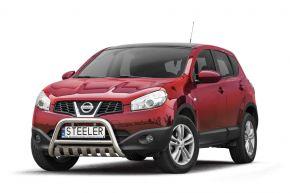 Rollbar Frontali Steeler per Nissan Qashqai 2010-2013 Modello S