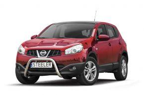 Rollbar Frontali Steeler per Nissan Qashqai 2010-2013 Modello U
