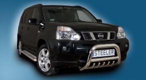 Rollbar Frontali Steeler per Nissan X-Trail 2007-2010 Modello G